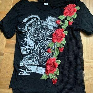oversized graphic tshirt